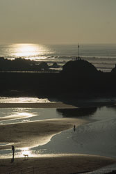 Bude in Winter